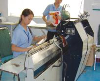 Saddle stitch binding machine