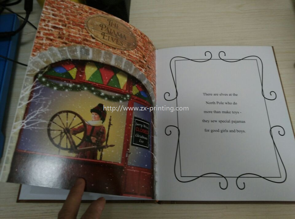 Children's book, hardcover book