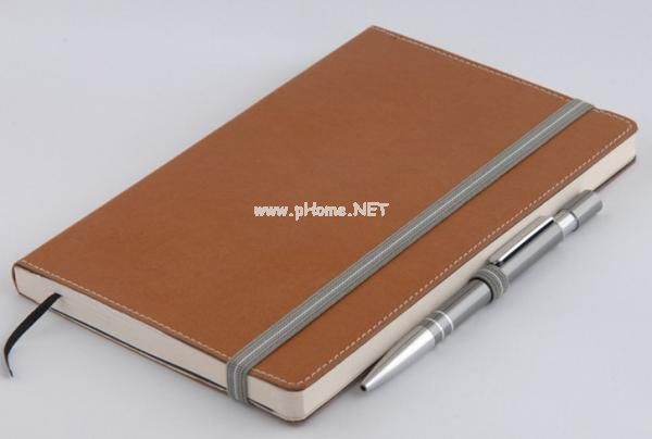 PU Leather Diary Notebook Printing