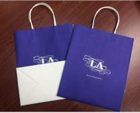 Customization shopping paper bag, kraft paper bags
