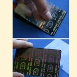 Hologram Printing Cards / Hologram Cards